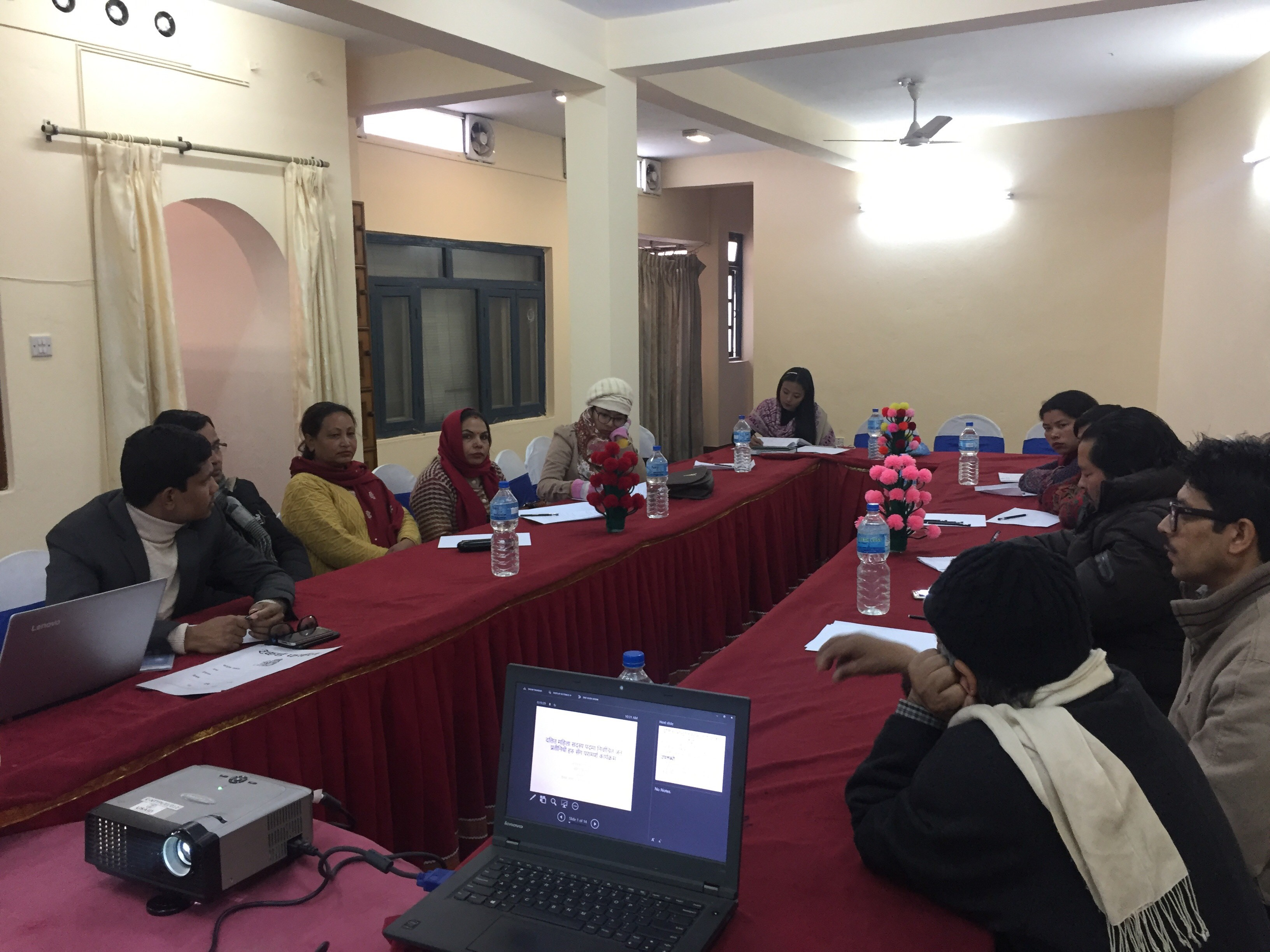 Consulting Program with Elected Dalit women Representatives